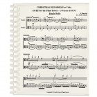 Christmas Melodies For Viola: Duets Cubed…3 Verses of FUN!