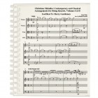 Christmas Melodies, String Quartet Volume I and II
