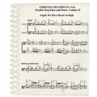 Christmas Melodies: Double Stop Solos and Duets For Viola, Volume II