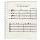 Hymn Melodies for Four Violins
