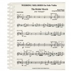Wedding Melodies For Solo Violin